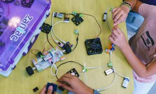 Exploring Electronics at Zaniac