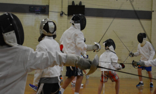 Fencing/Chess/Dodgeball Spring Break Trackout Camp