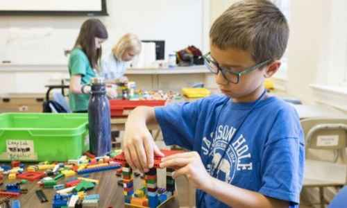 Science in the Summer - Engineering: LEGO® Lab (Half-day)