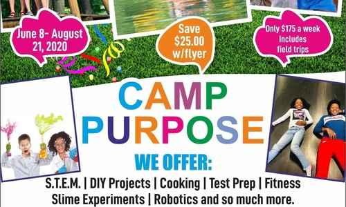Camp Purpose: Where Innovation & Adventure Awaits