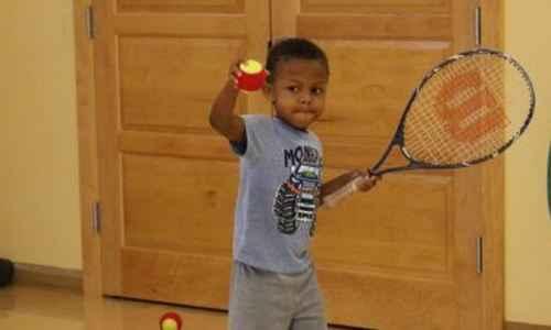 Mini Tennis with Stefan #2