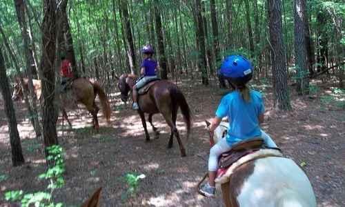 Track Out Horseback Riding Camp