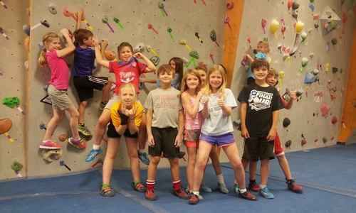 Progression Climbing Summer Camp